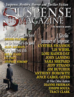 Suspense Magazine cover